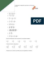 fracciones aritmeticas