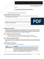 1. Editing and Organizing the Existing Information