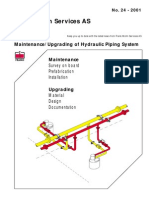 24-Maintenance - Upgrading of Hydraulic Piping System