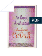 ar-rad al-mufhim Hukum Cadar
