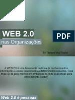 Web2.0 - Segunda Aula - Tainara Rocha (47155)