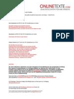 www.onlinetexte.com - Newsletter 2011-17
