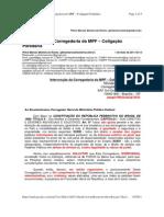 GMAIL - Intervenção da Corregedoria do MPF - Coligação Partidária