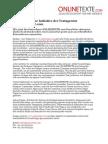 www.onlinetexte.com - Pressemeldung 2011-18 - Text gratis - Eine Initiative der Textagentur ONLINETEXTE.com