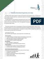 Internship Content 2011