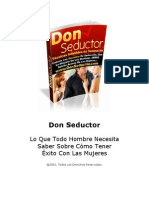 Don Seductor Manual