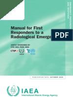WHO ManualforFirstResponderstoaRadiologicalEmergency