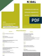 A Comunicação Prévia de Operações Urbanísticas Balanço e Perspectivas