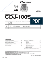 Service Manual CDJ-100S