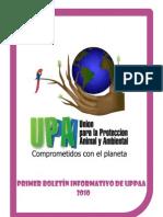 Primer Boletin Informativo de UPPAA-2010