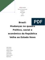 Crise de 29 no Brasil
