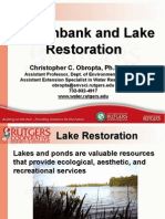 Lake and Pond Restoration Handout - Obropta