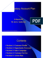 Sample Account Plan