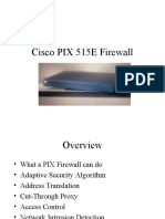Cisco PIX 515E Firewall