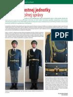 Rovnošata čestnej jednotky slovenskej colnej správy (Colné aktuality č. 3 - 4/2011)