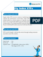 Equity Index ETFs Report