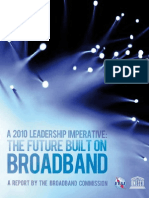 A 2010 Leadership Imperative- The Future Built on Broadband