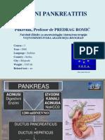 Vodic - Pankreatitis