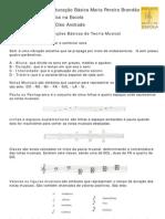 Noções básicas de Teoria Musical - Partitura