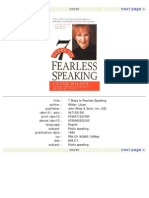 12928133 7 Steps to Fearless Speaking