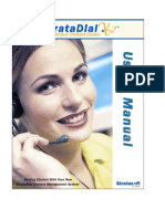 Strata Dial User Manual