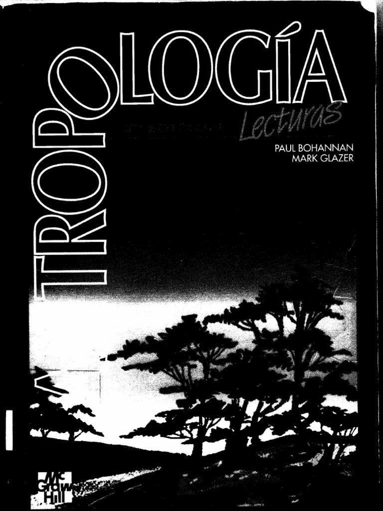Resultado de imagen para Paul Bohannan & Mark Glazer [1988] Antropología. Lecturas.