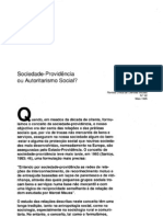 Sociedade Providencia Ou Autoritarismo Social RCCS42