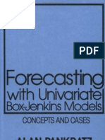 Forecasting With Univariate Box-Jenkins Models