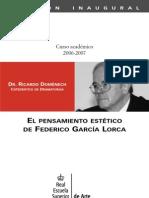 domenech-pensamiento estético de Lorca