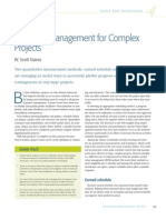 Sigma PMO Schedule Mgmt Complex Projects