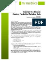 Mobile Marketing Metrics White Paper