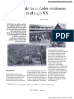 Evolución de las ciudades mexicanas en el siglo XX