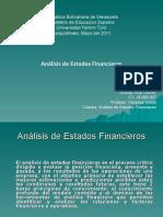 Analisis de Estados Financieros / Ana Cecilia Alvarez / 01-05-2011