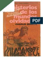 Misterios de Los Mundos Olvidados - Charles Berlitz