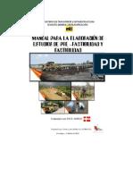 Manual Para Realizar Estudios de Prefactibilidad y Factibilidad
