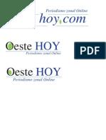 OESTE HOY - ISOLOGO