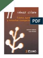 11 Ideas Clave Zabala Arnau