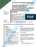 NBR ISO 3046 - Motores de Combustao Interna Alternativos - Desempenho - Parte 1
