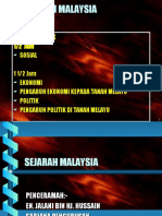 sejarah sosial malaysia