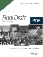 Final Draft Manual