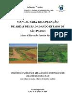 MANUAL DE RECUPERAÇÃO DE ÁREAS DEGRADADAS