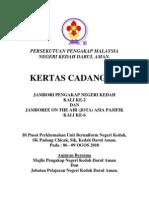 Kertas Kerja Jambori Pengakap Negeri Kedah Kali Ke-2