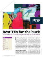 Consumer Reports - Best TV for the Buck (Feb 2010)