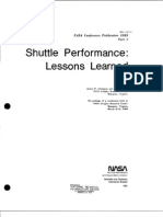 Shuttle Performance Lessons Learned, Part 1