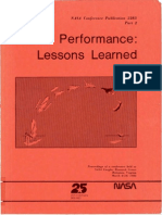 Shuttle Performance Lessons Learned, Part 2