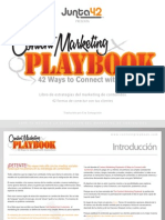 Marketing de Contenidos Playbook