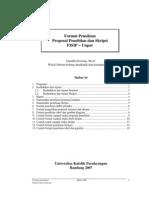 PDF Format Proposal Penelitian Dan Skripsi
