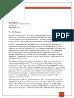Jesse Coppa Project 3 Letter
