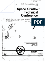 Space Shuttle Technical Conference, Part 1