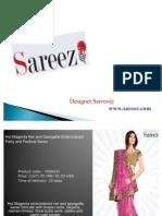 Indian Designer Sareez